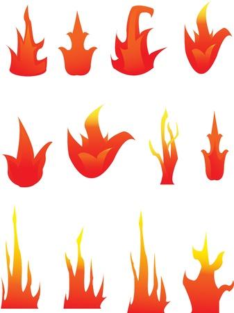 Fire Ilustração
