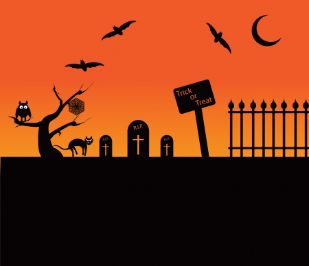 Halloween Theme Иллюстрация