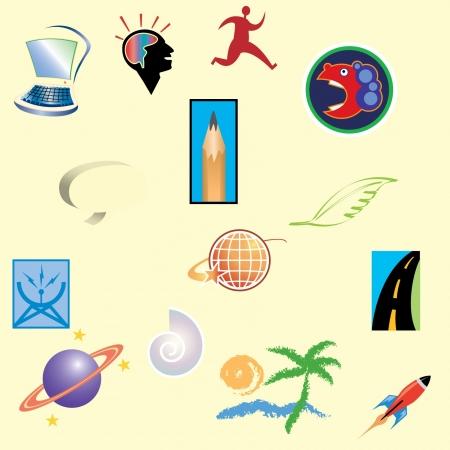 logo element Ilustracja