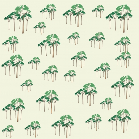 Tree pattern Illustration