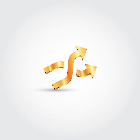 shuffle icon Stock Vector - 16922750