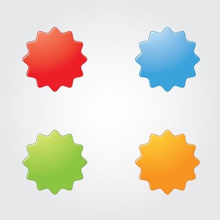 gibbose: button Illustration