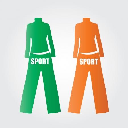 sport clothes: sport clothes