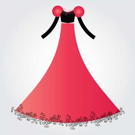 wedding dress Stock Vector - 16904263