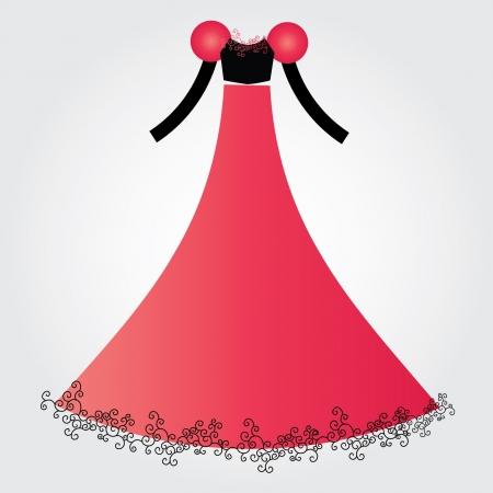 wedding dress Stock Vector - 16904263