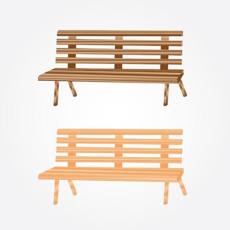 park bench Stock Vector - 16904210