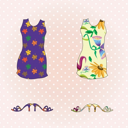 mini-dress Stock Vector - 16904231
