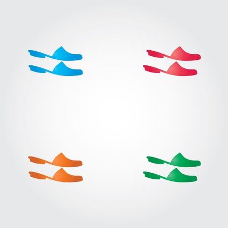 tanktop: shoes Illustration