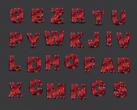 alphabet Stock Vector - 18513739