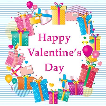 Happy valentine s day Stock Vector - 18513814