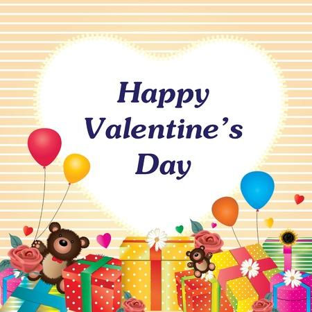 Happy valentine s day Stock Vector - 18513741