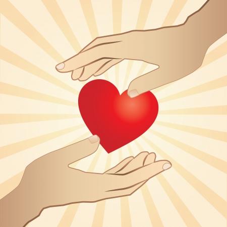 People in love Stock Vector - 18513701