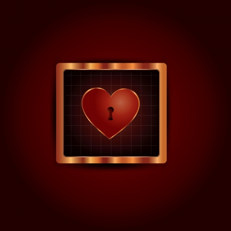 Heart icon Stock Vector - 18513751