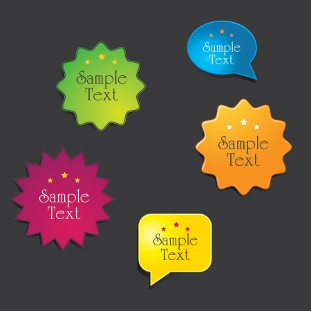 Web Elements  Site Navigation Menu Pack  Design Template   Vector