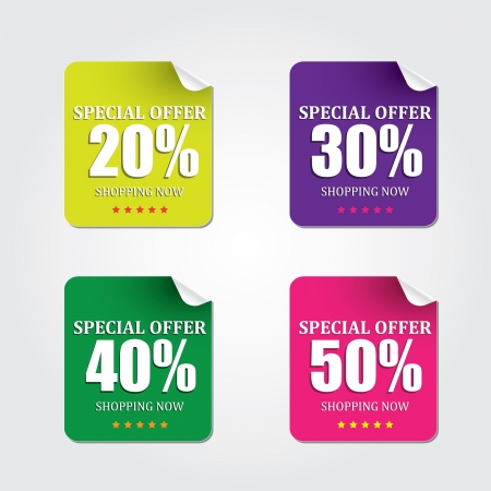 special offer Illustration