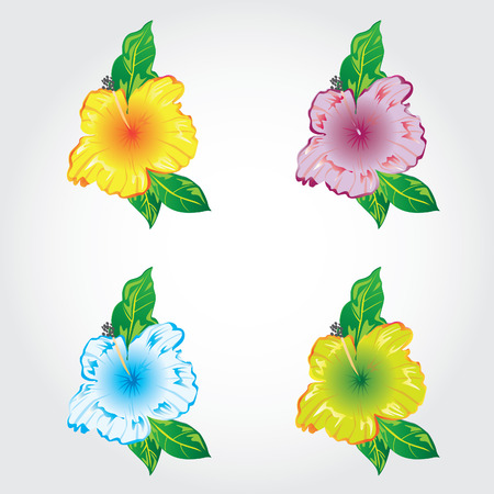 icon flowers Vector