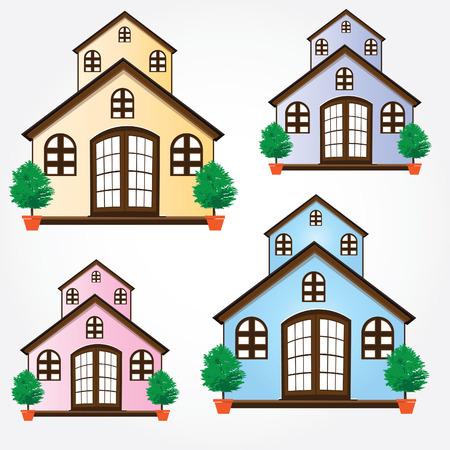 Small house Illustration