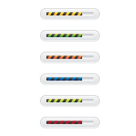 pre loader: preloaders and progress loading bars