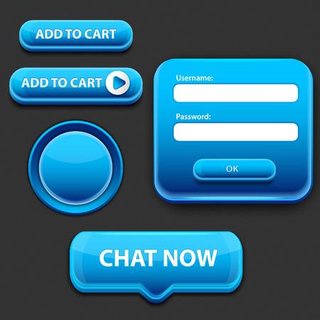 webtemplate: Web design elements