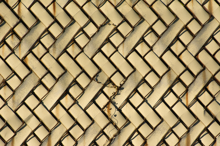metal grid: Fence texture Stock Photo
