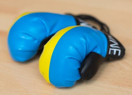 ukrainian: Ukrainian boxing gloves