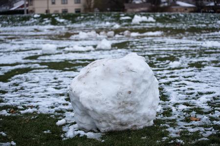 snow ball: Snow ball