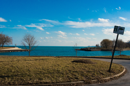 shorelines: Park on a Michigan Lake