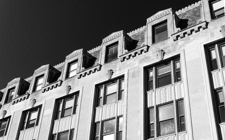 Evanston building Stok Fotoğraf