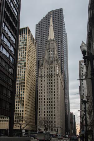 Chicago building Editorial
