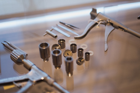 Old medical instruments Фото со стока