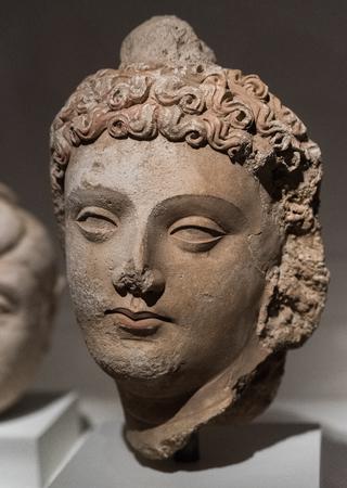 Ancient statue from India 版權商用圖片