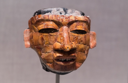 thespian: Ancient mask