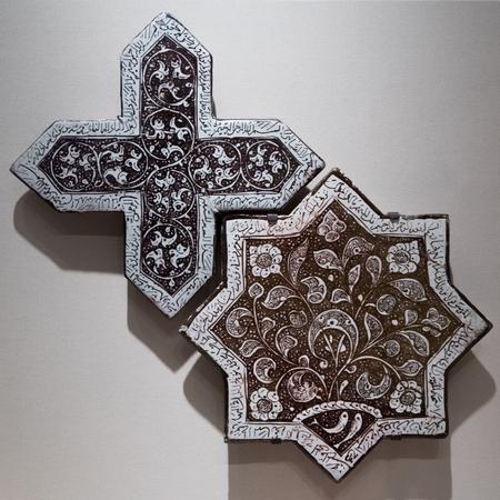 ishtar: Ancient mosaic Editorial