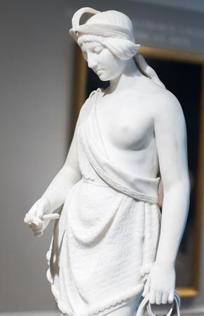 Posahontas posąg marmurowy Publikacyjne
