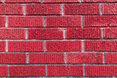 Red brick wall - high resolution background texture Stock fotó