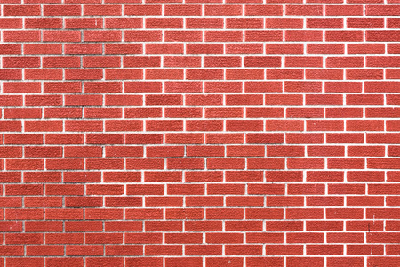 Red brick wall - high resolution background texture Stock Photo