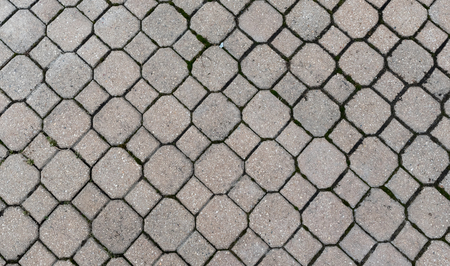 Grey bricks on a ground - wallpaper texture
