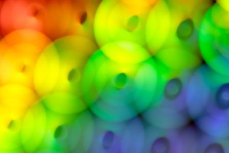 de focus: Unusual light effects - de focus light