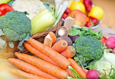 Bio-Gemüse Lizenzfreie Bilder