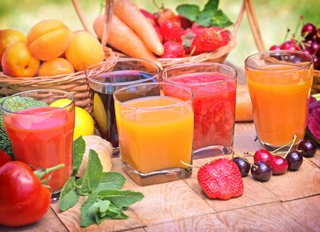 Gesunde Getränke - gesunde Getränke Lizenzfreie Bilder