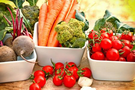 zdrowa żywnośc: Zdrowa żywność - warzywa ekologiczne