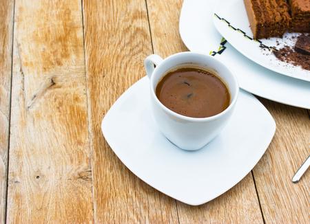 invigorate: Fresh black coffee