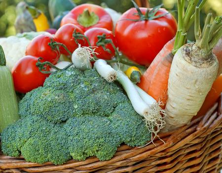 alimentacion sana: Las verduras frescas - comida sana