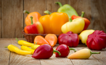 food state: Colorful peppers
