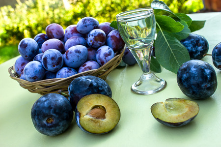 Prunes - quetsche et prune Banque d'images