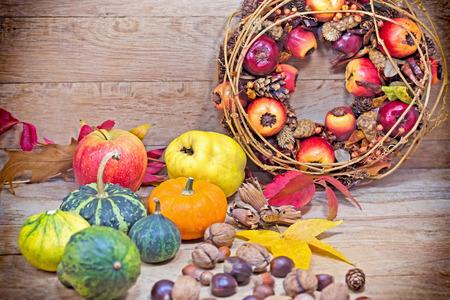 autumn harvest: Autumn harvest - Autumn fruits