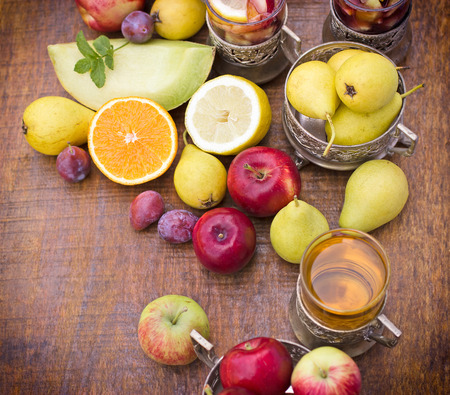 refreshing: Cider and sangria - refreshing, cold drinks