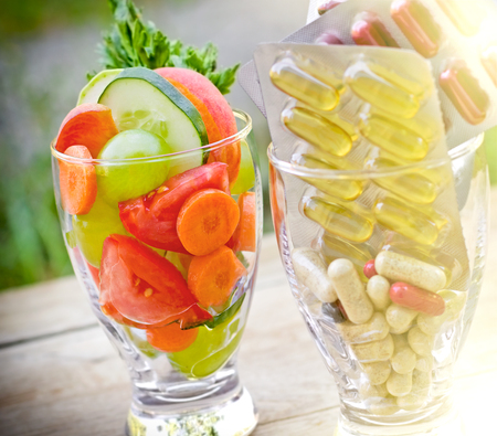 supplement: Healthy lifestyle - healthy diet Stock Photo