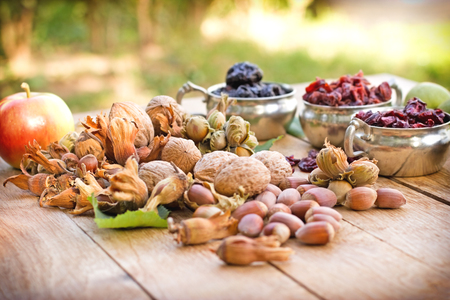 La nourriture végétarienne - alimentation saine Banque d'images
