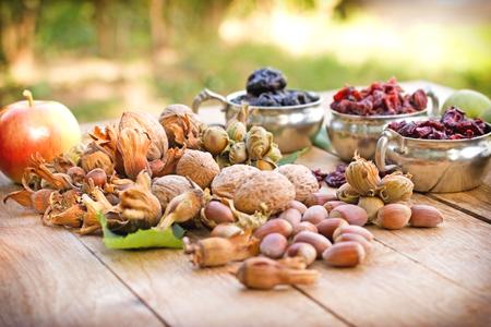 healthy snacks: Vegetarian food - healthy food Stock Photo